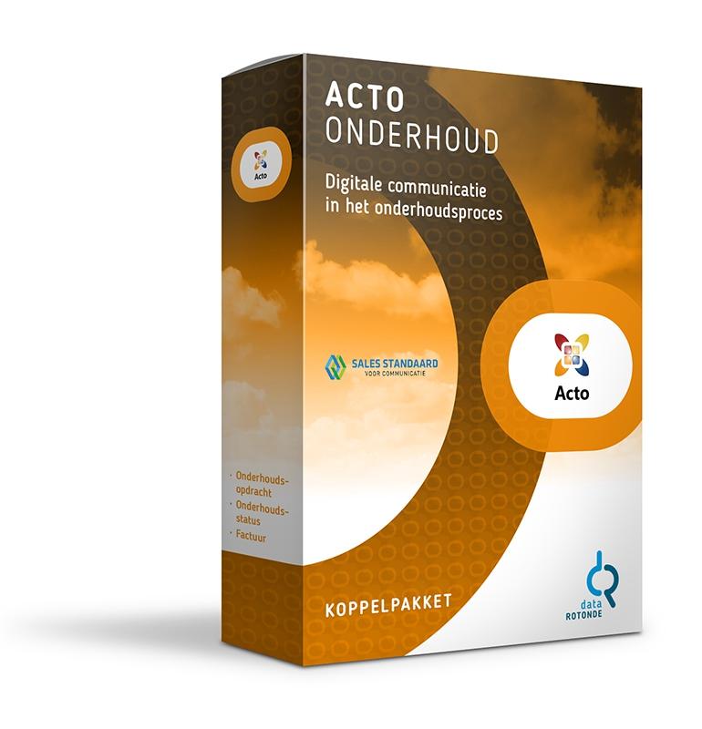 Datarotonde koppelpakket Acto onderhoud
