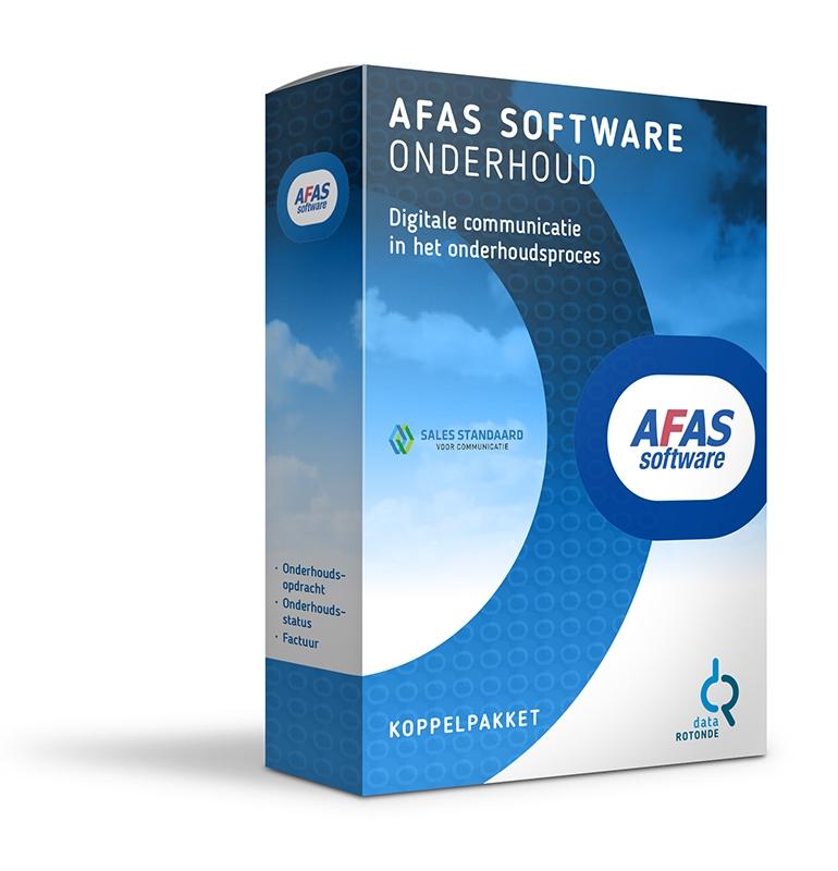 Datarotonde koppelpakket Afas onderhoud