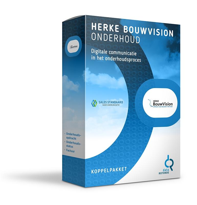 Datarotonde koppelpakket Herke BouwVision onderhoud