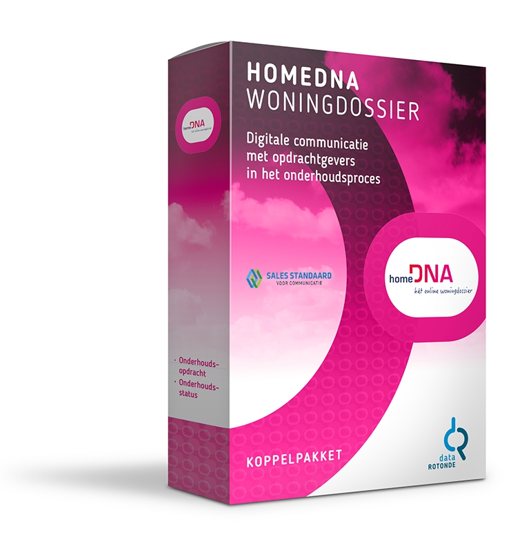 Datarotonde koppelpakket HomeDNA Woningdossier - opdracht ontvangen