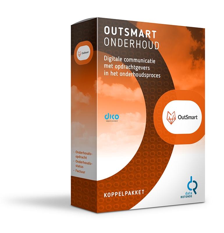 Datarotonde koppelpakket Outsmart onderhoud