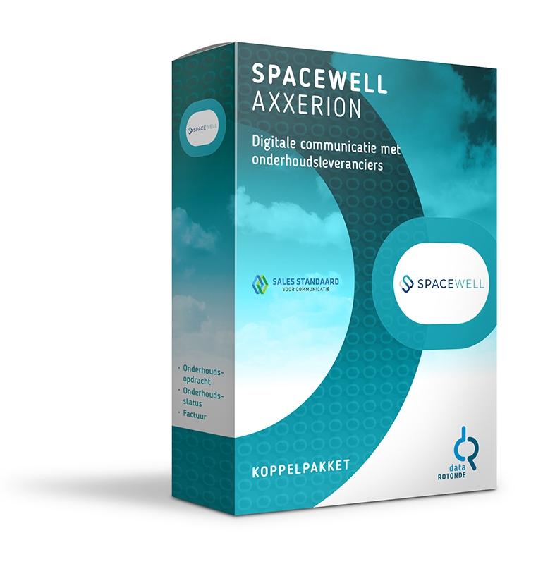 Datarotonde koppelpakket Spacewell Axxerion onderhoud
