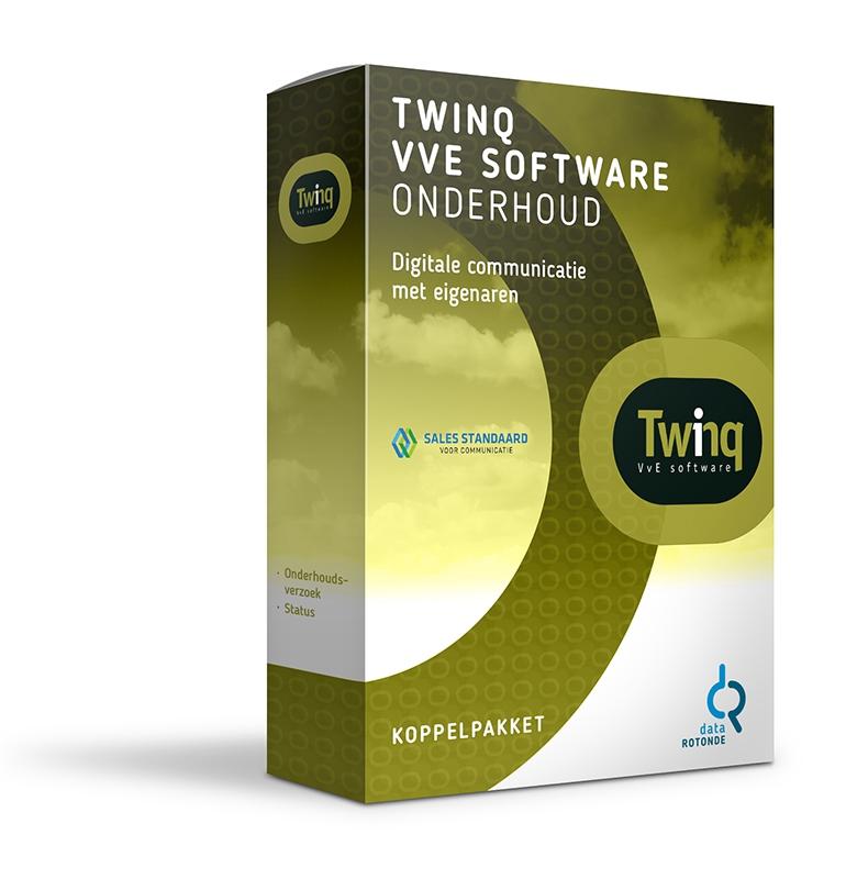 Datarotonde koppelpakket Twinq VvE Software - meldingen van eigenaren