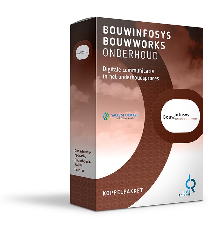 Datarotonde koppelpakket Bouwinfosys BouwWorks onderhoud